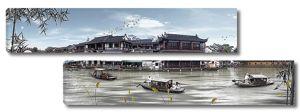 Средневековый китайский порт