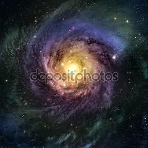 Невероятно красивая галактика