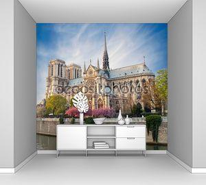 Нотр-Дам-де-Париж летом
