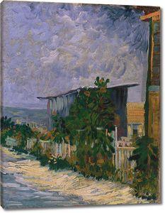 Ван Гог. Монмартр, тропинка с подсолнухами