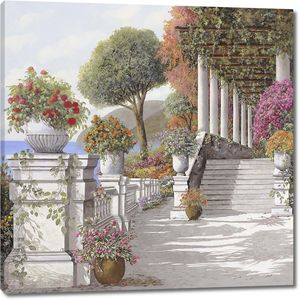 Терасса, колоннада