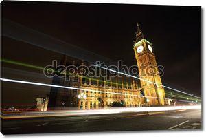Биг-Бен и Лондон в ночи