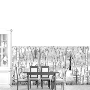 Sherwood-Звери в рисованном лесу