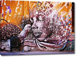 Граффити en Барселона