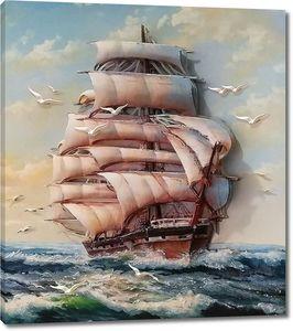 Парусный корабль