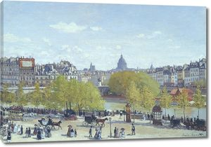 Клод Моне. Набережная у Лувра