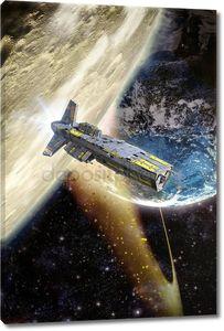 космический корабль и после земли