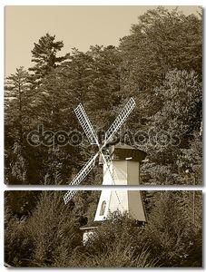 Старая ветряная мельница в Грузии Хелен