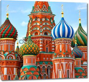 Собор Василия Блаженного на Красной площади Москва Россия