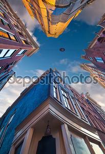 Elements of authentic Dutch architecture
