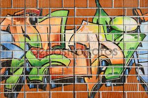 Граффити живопись