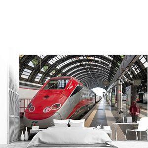 Платформа станции Milano centrale поезд