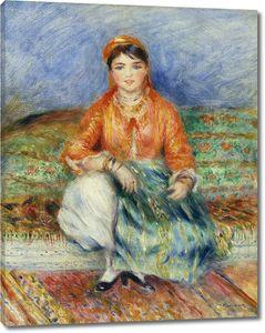 Пьер Огюст Ренуар. Алжирская девушка
