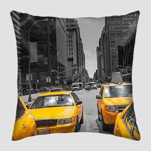 Таймс-Сквер нью-йоркский дневной свет желтого такси