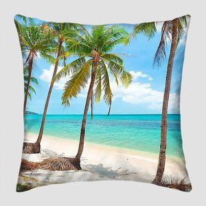Кокосовые пальмы на берегу