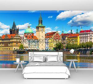 Старый город в Праге летом