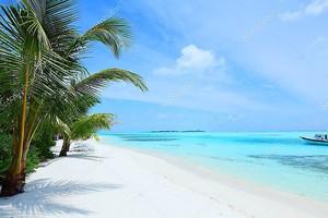 Тропический солнечный остров