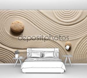 Сад Дзэн на песке