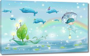 Перелетные дельфины