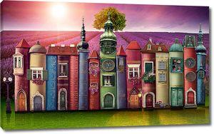 Замок из книг