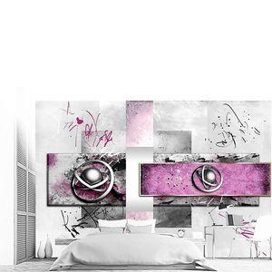 Абстрактная иллюстрация цветового дизайна