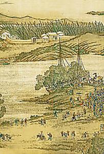 Порт древнего Китая