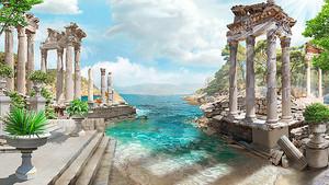 Море, наступающее на античность
