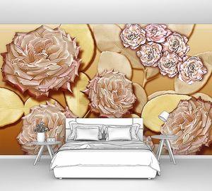 Розы в винтажном стиле