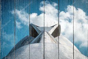 Крупным планом фото элементов современной архитектуры