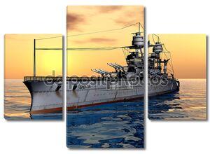 Американский военный корабль uss Аризона