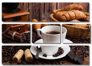 Натюрморт с кофейной чашкой