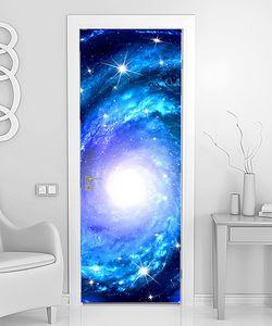 Спираль галактики и звезды