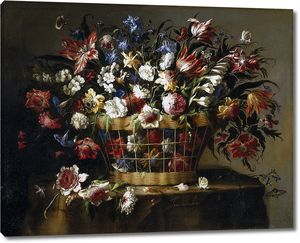 Арельяно Хуан де. Корзина с цветами