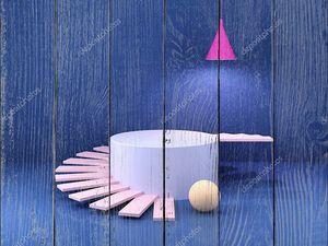 Яркие геометрические формы