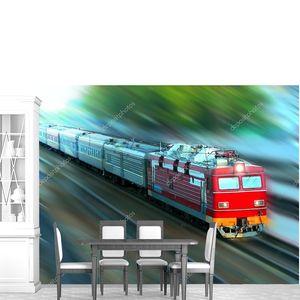 Железнодорожный поезд