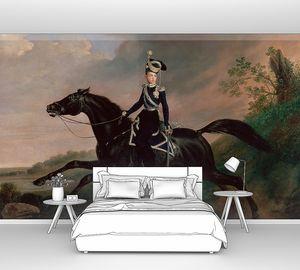 Крюгер Франц. Конный портрет великого князя Александра Николаевича