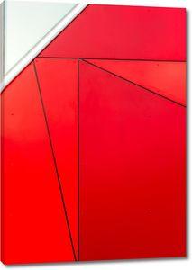 Многоугольники красные