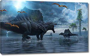 Древние динозавры