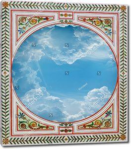 Небо с красивым орнаментом