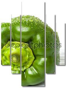 свежий зеленый перец