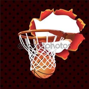 Баскетбольный плакат баннер