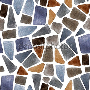 Watercolor seamless stone texture
