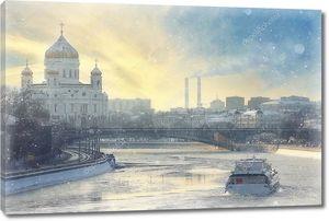 Собор Христа Спасителя  на Москве реке