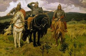 Три богатыря, Васнецов Виктор