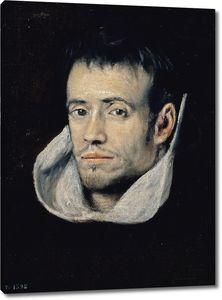 Эль Греко (последователь). Монах тринитарий