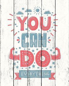 Вы можете сделать все - мотивация цитаты плакат