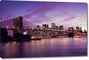 Манхэттен на закате, Нью-Йорк