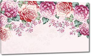 Розовые бутоны
