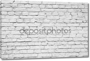 Белый кирпичный фон
