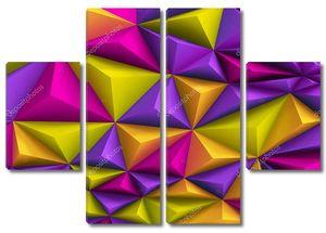 Абстрактный многоцветный архитектурный фон